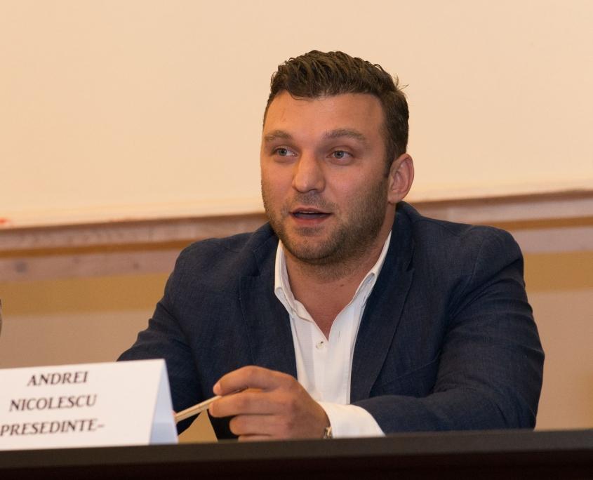 Andrei Nicolescu - Presedinte Aqua Sport